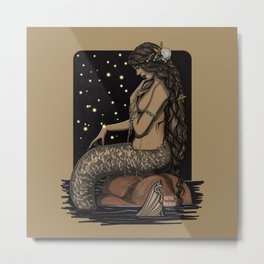 Mermaid Folies 11 Metal Print