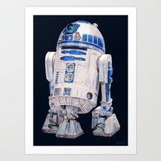 R2 D2 - Star Wars Art Print