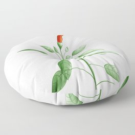 Little Hot Chili Pepper Plant Floor Pillow