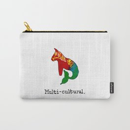 Multi-cultural I Carry-All Pouch