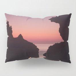 Roche Reefs At Sunset. Pillow Sham