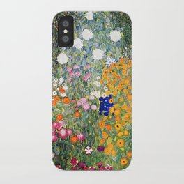 The Garden by Gustav Klimt iPhone Case