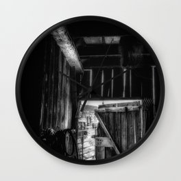 Did you Grow Up in a Barn Wall Clock