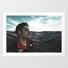 Mountain Bliss Art Print