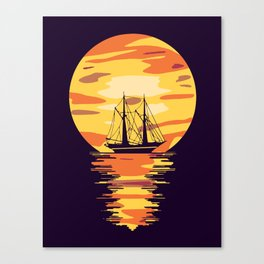 Light My Way Canvas Print