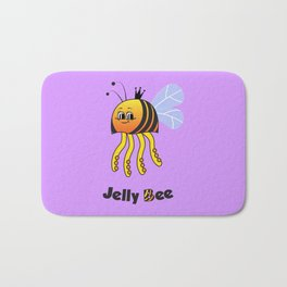 Jelly Bee Bath Mat