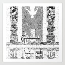 King Pig EP Cover Art Art Print