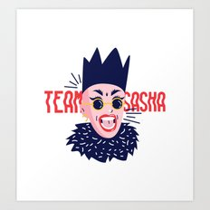 Team Sasha Art Print