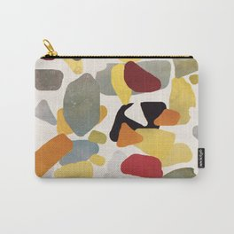 Colored Rocks Carry-All Pouch
