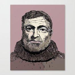 Hemingway Canvas Print