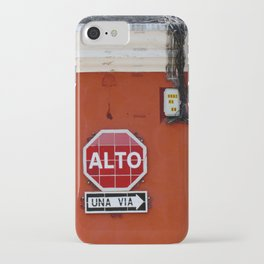 Stop! iPhone Case