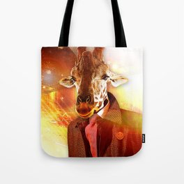 Be Nice to ANImals Tote Bag