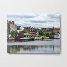 Leith, Edinburgh Metal Print