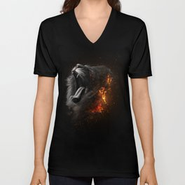 XTINCT x Lion Unisex V-Neck