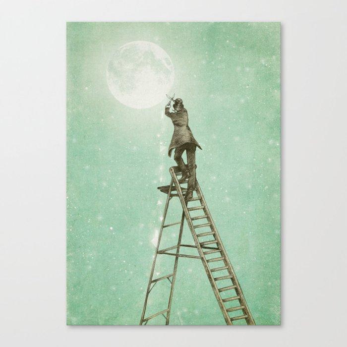 Waning Moon Canvas Print