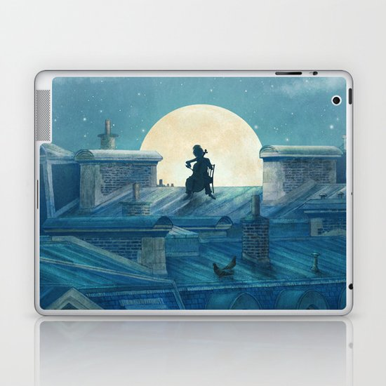 Rooftoppers - square format  Laptop & iPad Skin