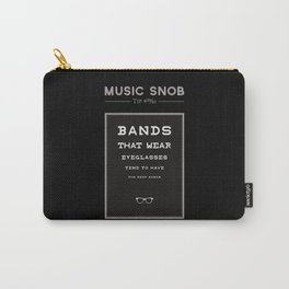 LEGALLY Fourth Eye Blind — Music Snob Tip #20/20-ish Carry-All Pouch
