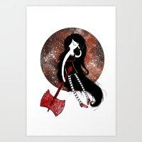 Miss Nightosphere Art Print