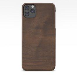 walnut textile natural wood iPhone Case