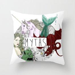 Myths Throw Pillow