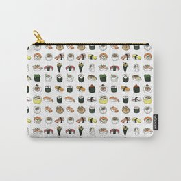 Sushi pattern (colour version) Carry-All Pouch