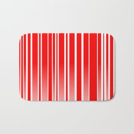 Red Track Bath Mat