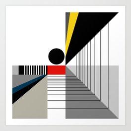 BLACK POINT Art Print