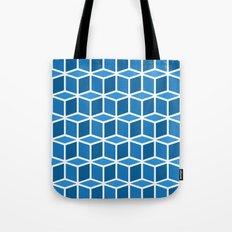 Blue Boxes Tote Bag
