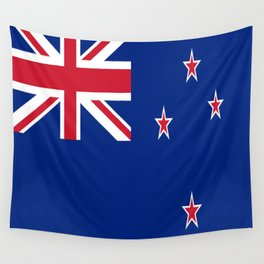 The Flag of New Zealand Wall Tapestry