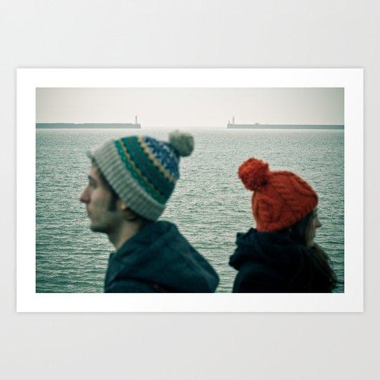 Ports Art Print