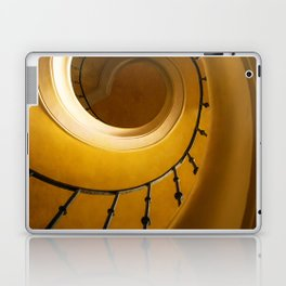 Brown and golden spiral staircase Laptop & iPad Skin