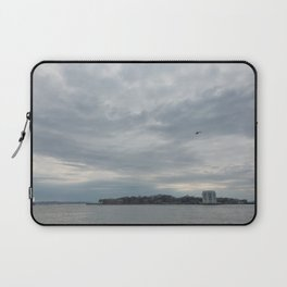 Clouds Over Governor's Island Laptop Sleeve