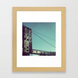 Abandon MTL Framed Art Print