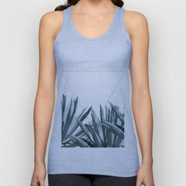 Agave Triangle Unisex Tank Top