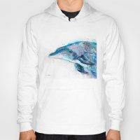 dolphin Hoodies featuring Dolphin  by Slaveika Aladjova