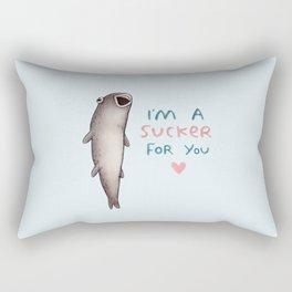Suckerfish Rectangular Pillow