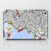 oslo iPad Cases featuring Oslo by Mondrian Maps
