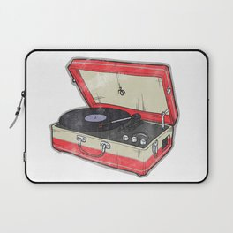 Vintage Record Player Laptop Sleeve