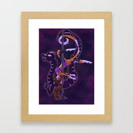 Dragon Dancer Framed Art Print