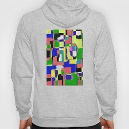 Raw Paint 3 - Colour Abstract Hoody