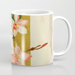 Flowers & Bees I Coffee Mug
