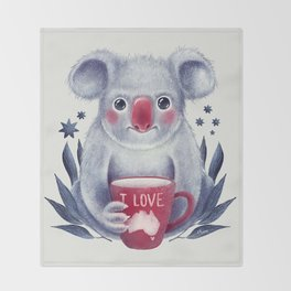 I♥Australia Throw Blanket
