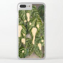 Foliage I Clear iPhone Case