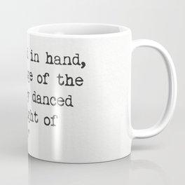 Edward Lear quote Coffee Mug