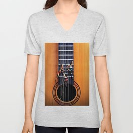 Surreal Guitar Climbers  Unisex V-Neck