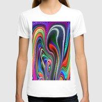 oriental T-shirts featuring Oriental Vapours by David  Gough