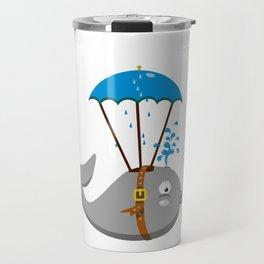 Whale skydiving V6S2 Travel Mug