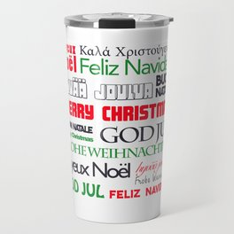 merry christmas in different languages II Travel Mug