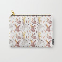 Mythical Rabbits Carry-All Pouch