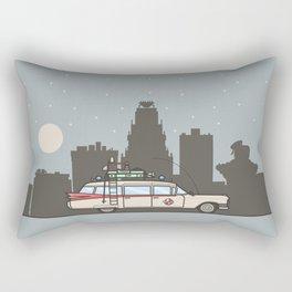 Ghostbusters Ecto-1 Rectangular Pillow